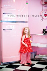 Big Chill Pink Fridge - Ice Maker is on the inside!