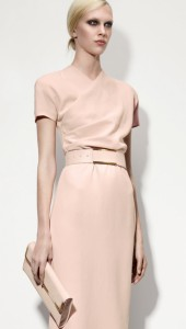 Bottega Veneta Fall 2013 Dress