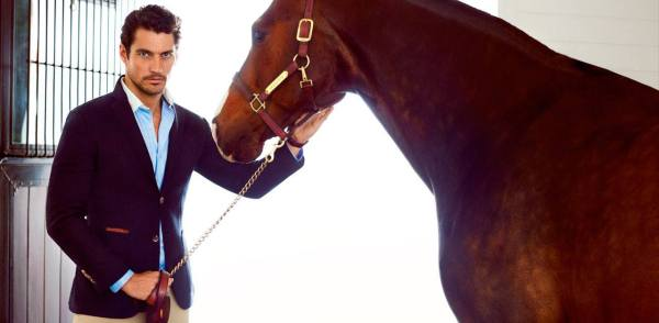 His hotness, David Gandy for Massimo Dutti