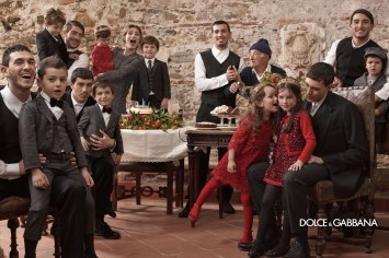 Kids' Dolce and Gabbana Fall 13 Ad Campaign