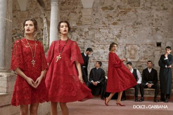 Dolce and Gabbana Fall 13 Ad Campaign - Simply Stunning.