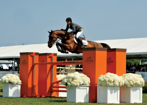 An amazing jump from the Hampton Classic