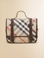 Burberry Check School Backpack - $175