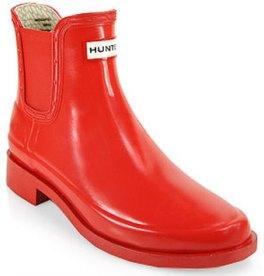 Hunter Red Bradwell Rubber Short Boots - $115