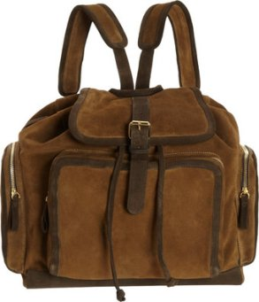 Pierre Hardy Gold Suede Backpack - $1775
