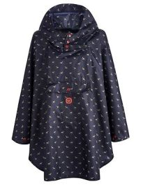 Joules Navy Horse Poncho