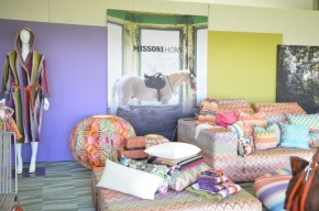 Missoni's Impeccible Booth Design