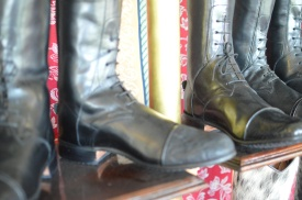 A gorgeous example of their customized boots