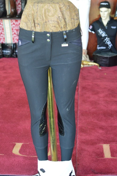 Der Dau Breeches with Snakeskin Knee Patches