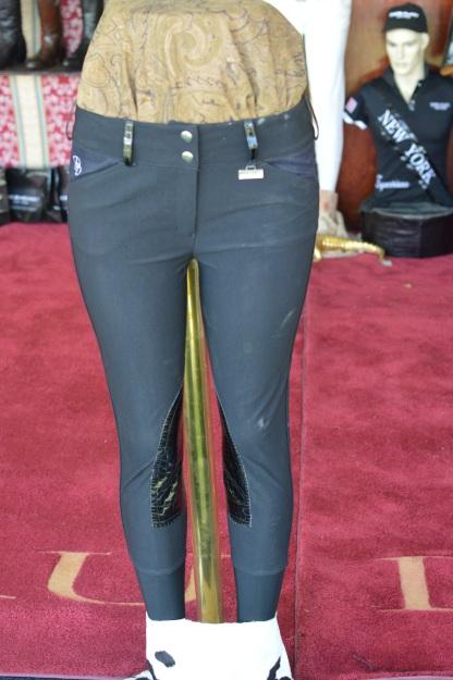 Der Dau Breeches with Snakeskin Knee Patches
