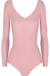 Ballet Beautiful Stretch Nylon Leotard