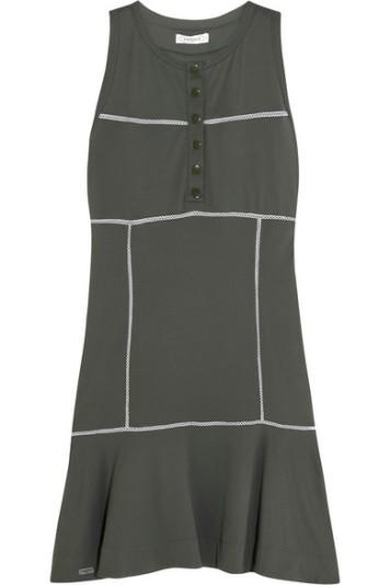L'Etoile Sport Drop Waist Pique Dress