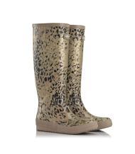 MoovBoot Snow Leopard - lined with 100% Austrialian Merino Sheepskin